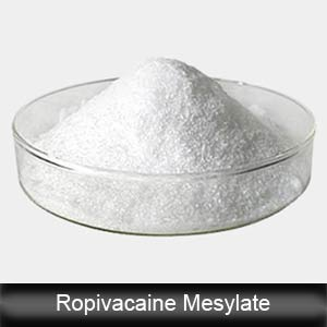 Ropivacaine Mesylate Anesthetic Powder Anodye Ropivacaine Mesylate (CAS854056-07-8)