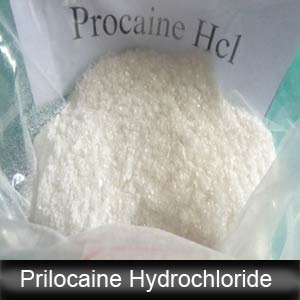 High Quality Local Anesthetic Prilocaine Hydrochloride / Prilocaine HCl, CAS: 1786-81-8