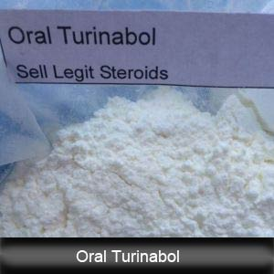 Steroid Powder Oral Turinabol / 4-Chlorodehydromethyl Testosterone CAS 2446-23-2